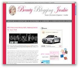 Beauty Blogging Junkie BBJ Interviews Mindy Hall, Makeup Artist for Star Trek